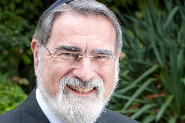 "Rabbi Lord Jonathan Sacks zt""l"
